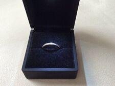 14ct White Gold Diamond Full Eternity Ring