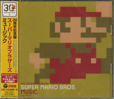 NINTENDO-THE 30TH ANNIVERSARY SUPER MARIO BROS...-JAPAN 2 CD BONUS TRACK G88