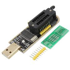 CH341A USB Programmer 24/25 Serie Burner Chip BIOS Writer SPI Flash+Pinboar O1T1