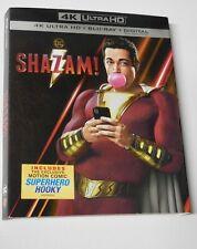 *NO DISCS!* Shazam  4K Blu Ray New slipcover  *SLIPCOVER ONLY!*