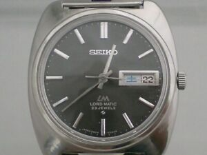 SEIKO LORD MATIC 5606-7130 Vintage Men's Watch Automatic 1969