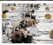 wedding table runners- Gold Embroidered