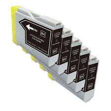 5 BLACK Ink Cartridge Compatible for Brother LC51 MFC 665CW 685CW 845CW  885CW