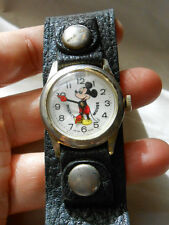 Vintage Bradley Walt Disney Mickey Mouse Watch Works Working