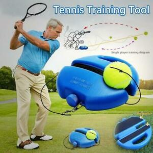 Tennis Ball Solo Training Practice Retractable Convenient Tennis Tool Sport