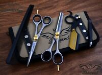 """Professional Barber Shears Hair Cutting & Thinning Scissors Hairdressing Set 6"""""""