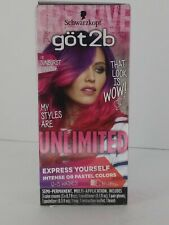Schwarzkopf Got2b Unlimited Semi-Permanent Hair Color Sunburst Collection