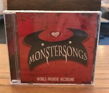 Monstersongs (world Premiere Recording) [New CD]