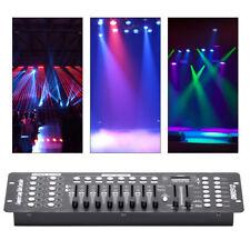 192 Kanäle DMX512 Controller Konsole Bühnenlicht Party DJ Equipment Lichteffekt