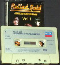 Rolling Stones Rolled Gold The Very Best Vol.1 CASSETTE ALBUM Decca KR 261 Rock