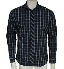 Henri Lloyd Custom Fit Check Long Sleeve Shirt Men's Size L Large