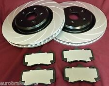 HSV VE R8 CLUBSPORT GRANGE MALOO GTS FRONT DISC ROTORS & HEAVY DUTY CERAMIC PADS