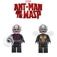 Antman & Wasp - Lego Marvel Universe Moc Minifigure [Duo Pack]