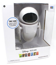 DISNEY PIXAR WALL-E ROBOT INTERACTIVE TALKING EVE FIGURE THINKWAY TOYS SOUNDS