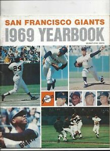 1969 San Francisco Giants Yearbook in near mint condition (see scan)