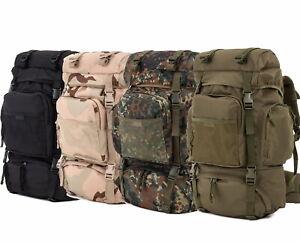 Tactical Rucksack Trekking Outdoor Wanderrucksack 55l in verschiedenen Farben