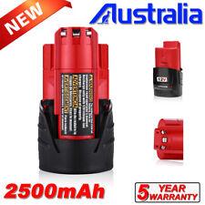 For Milwaukee M12B4 12V Li-Ion 5.0Ah M12 LITHIUM Battery M12B6 M12B5 48-11-2440
