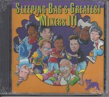 "VARIOUS ARTISTS  ""Sleeping Bag's Greatest Mixers III""  NEW SEALED DJ / DANCE CD"