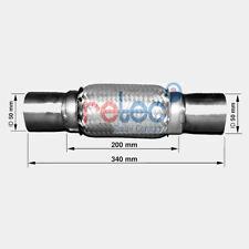 retec Flexrohr, Abgasanlage 83008543 für FORD OPEL