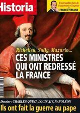 HISTORIA n° 837 Septembre 2016*Ministres redressé la France*Les GUERRES au PAPE