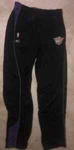 Phoenix Suns Authetnic Sweatpants 2XL Tall Black Purple Track Work Out Pants NBA