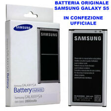 Batteria Pila Originale Samsung Galaxy S5 G900 G900F SM EB-BG900BBE Blister oem