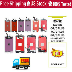 For iPhone 6 6s 7 8 LCD Display Digitizer Touch Screen Assembly Replacement LOT