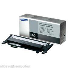 Genuine Black Samsung CLT-K406S Toner Cartridge (CLT-K406S/ELS)