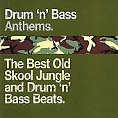 Various Artists : Drum n Bass Anthems: the Best Old Skool CD Fast and FREE P & P