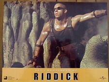 VIN DIESEL PHOTO EXPLOITATION LOBBY CARD LES CHRONIQUES DE RIDDICK