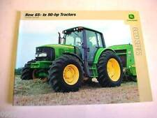 John Deere 6020 Series 65 and 90 HP Tractors Color Brochure 36 Page           b1
