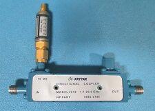 Krytar 2618 Directional Coupler 1.7-20 GHz w/ Agilent 86290-60045 Detector 18GHz