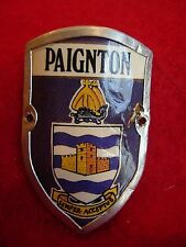 Paignton used badge stocknagel hiking medallion mount G5242