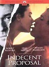 Indecent Proposal (DVD, 2002) Robert Redford Demi Moore
