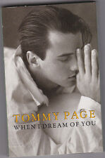 TOMMY PAGE - WHEN I DREAM OF YOU CASSETTE SINGLE