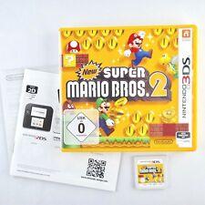 New Super Mario Bros. 2 |Nintendo 3DS |Mit OVP & Anleitungen | Gut