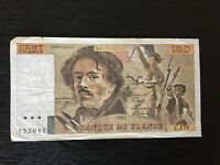 France 100 Francs Banknote 1991 Old Collectible Foreign Collectible Paper Money