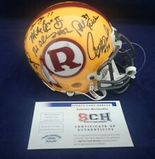 70 GREATEST Redskins Signed Auth Mini Helmet W/14 Autographs SCH #29250 Auth