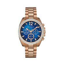 Wittnauer WN4041 Ladies Stone Set Collection Rose Gold Tone Chronograph