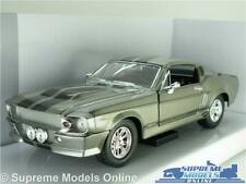 FORD MUSTANG GT 500 MODEL CAR ELEANOR 1:24 SCALE LARGE ROAD SIGNATURE LUCKY K8