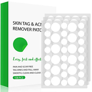 Skin Tag Remover, Skin Tag Removal Patches, Skin Tags Dry and Fall Away, Covers