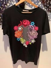 Christopher Kane Printed Short Slevve T-shirt In Black | Size L