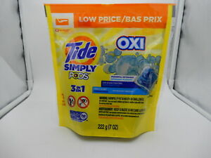 Tide Simply PODS +Oxi Liquid Laundry Refreshing Breeze 13ct 037000752578JP