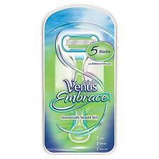 Gillette Venus Abrazo de mujer 5-BLADE maquinilla de afeitar con 1 Razor-más suave durante más tiempo