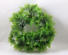 Vintage Candle Ring Holly Leaves