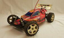 Kyosho turbo burns buggy 4wd 5 shocks 1:8 off road nitro RC scoppio REX 350 RARA