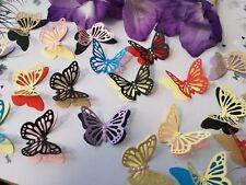 Multi Coloured Paper Butterflies Table Decorations Party Decor 3D Butterflies
