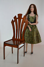 chair for Dolls 16-18 inch 1/4 1:4 furniture Tonner BJD Cami wooden furniture
