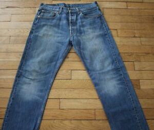 LEVIS 501 Jeans pour Homme W 32 - L 32 Taille Fr 42  (Réf # O108)