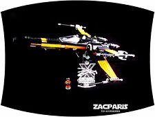 Lego 75102 Poe's X-Wing Fighter - CUSTOM 3D MULTI DIRECTIONAL STAND 13 Degree!